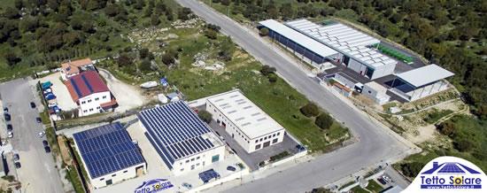 Tetto Solare in una foto con drone - uffici amministrativi e magazzino - a questo indirizzo le indicazioni su come raggiungerci goo.gl/maps/t31MPCqso492