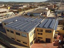 Installazione impianto a prato sardo su tetto piano da Tetto Solare