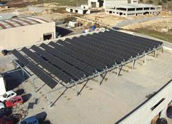 installazione fotovoltaico da 100kWp con pannelli sunpower nella concessionaria Nissan Toyota a prato sardo - Nuoro