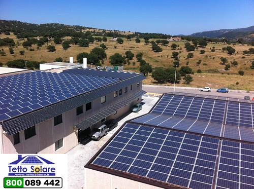 Stabilimento Tetto Solare Via Cambosu Prato Sardo Nuoro