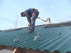 Installazione impianto dalla Tetto Solare