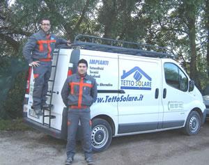 Installatori Tetto Solare - Aecos